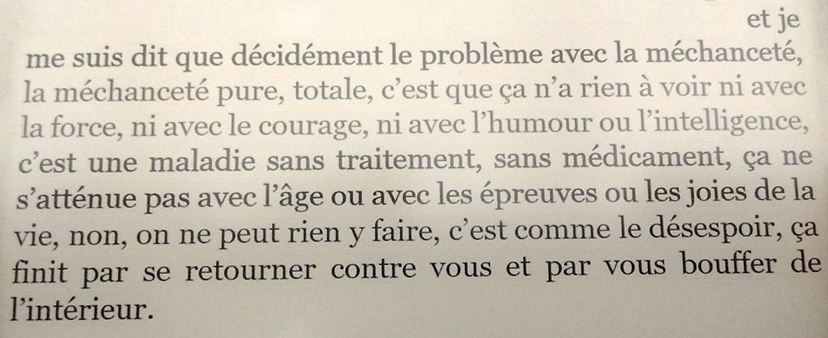 La gaieté de Justine Lévy