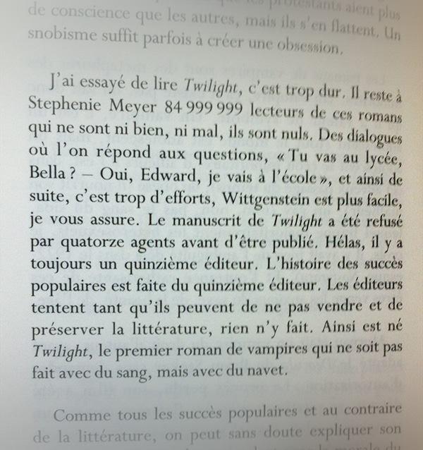 Pourquoi lire ? de Charles Dantzig