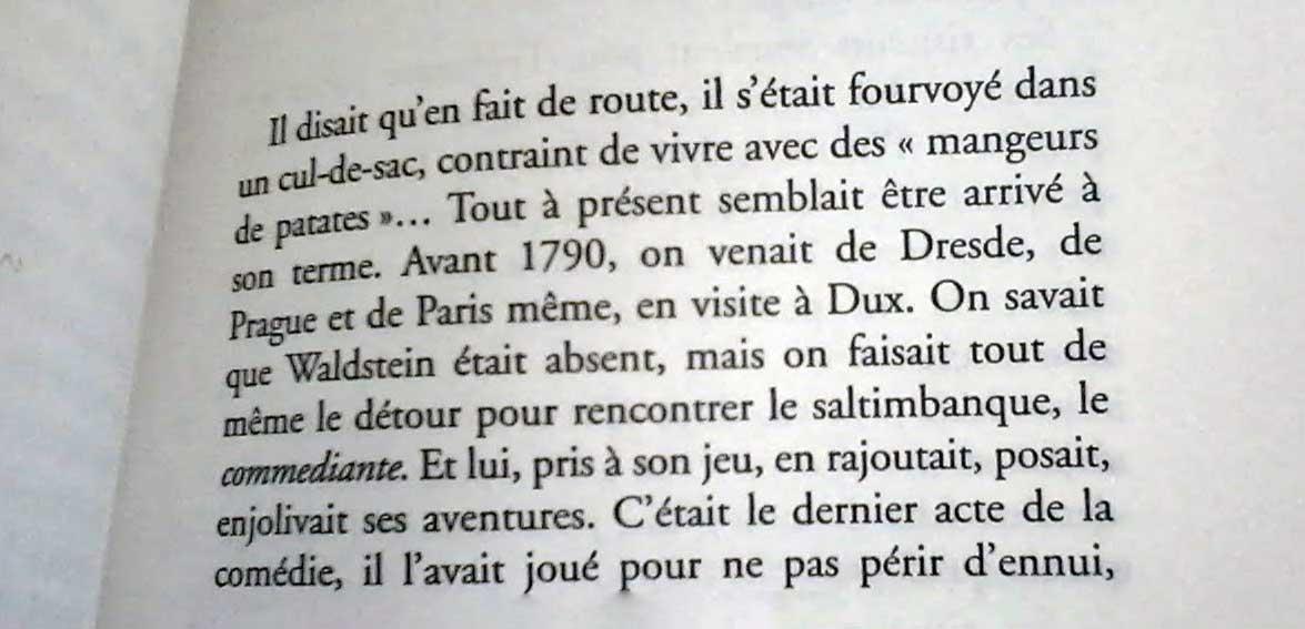 Les derniers jours de Casanova de Alain Vircondelet
