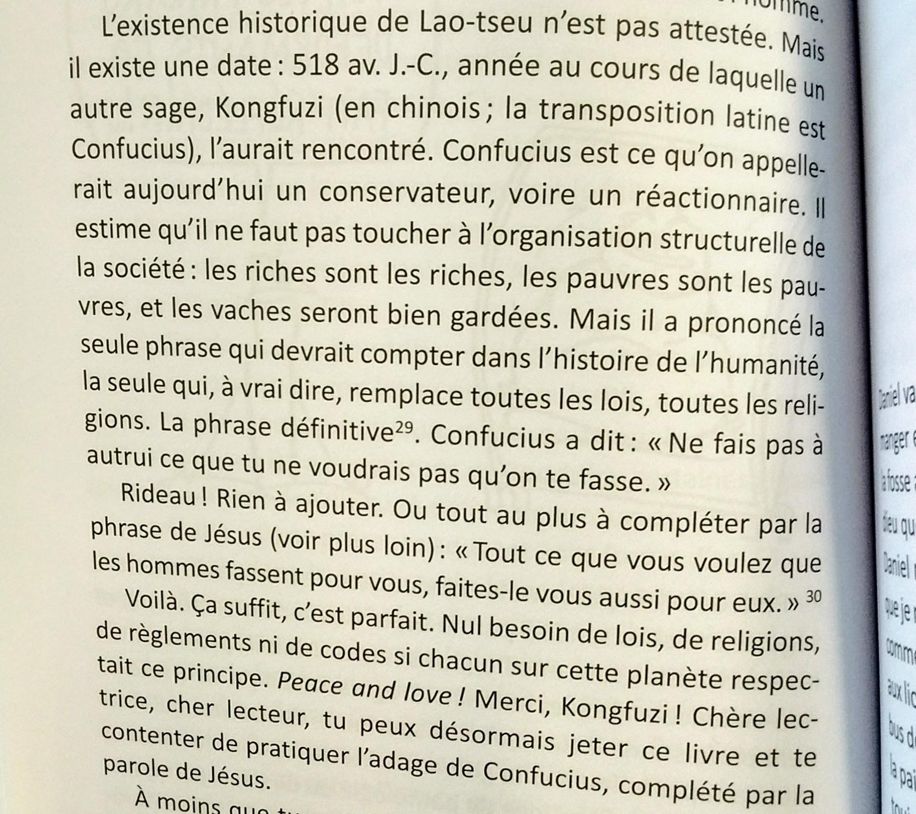 Petit (mal)traité d'histoire des religions de François Conod