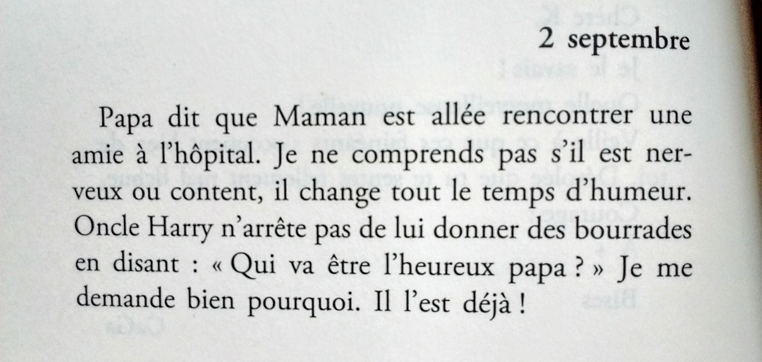 Le journal intime de Baby Georges de Clare Benett