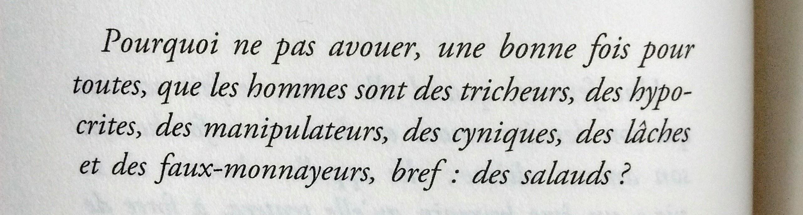 Une simple lettre d'amour de Yann Moix