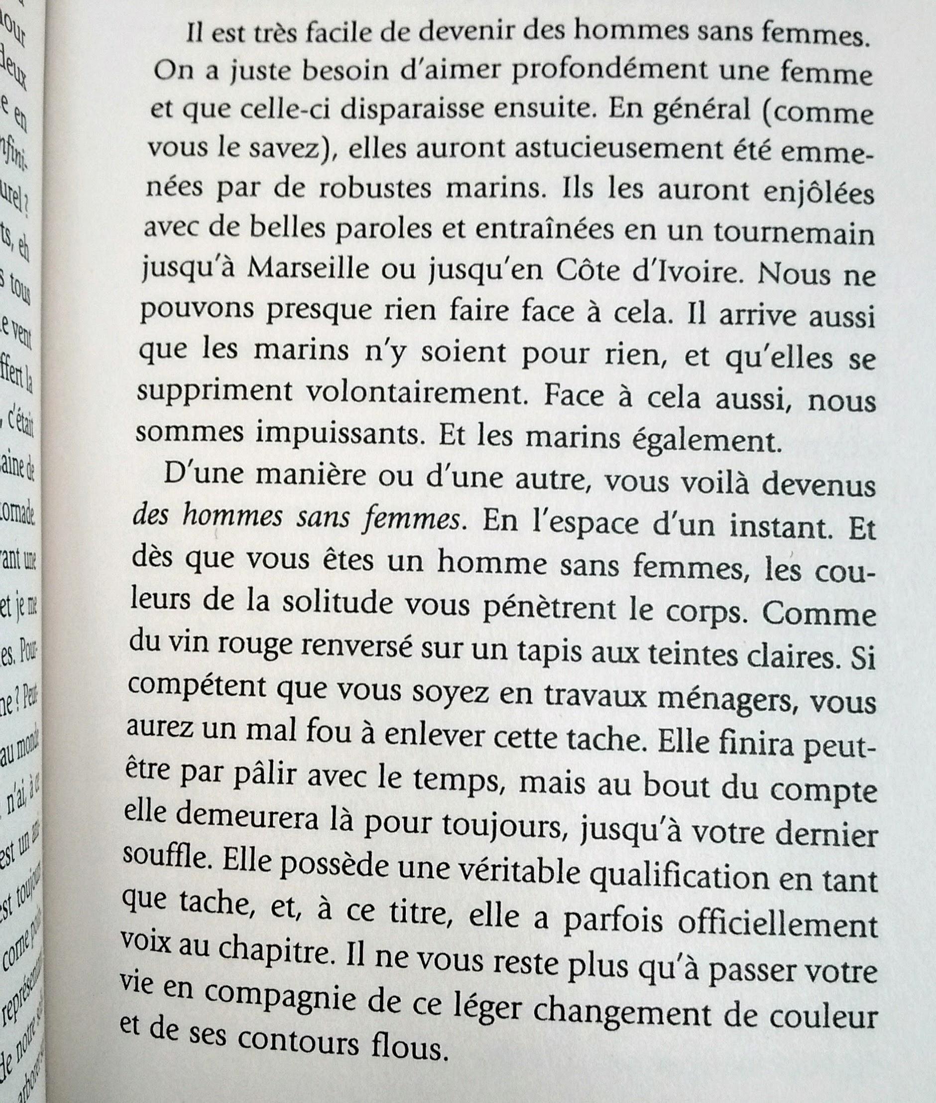 Des hommes sans femmes de Haruki Murakami 2